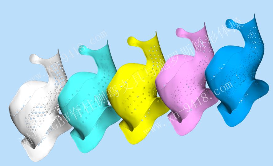 我们在为3D打印-施罗斯侧弯支具而准备 侧弯支具相关文章 第3张